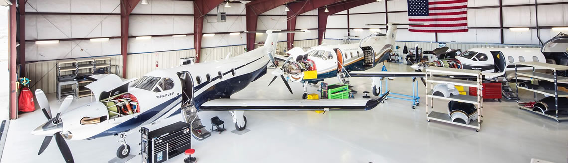 Pilatus Authorized Satellite Service Center | OK3 AIR | Heber / Park