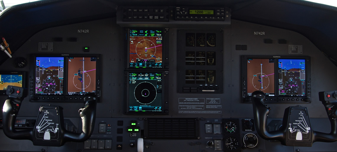 Pilatus Avionics Modernization - OK3 AIR - Heber City, Utah